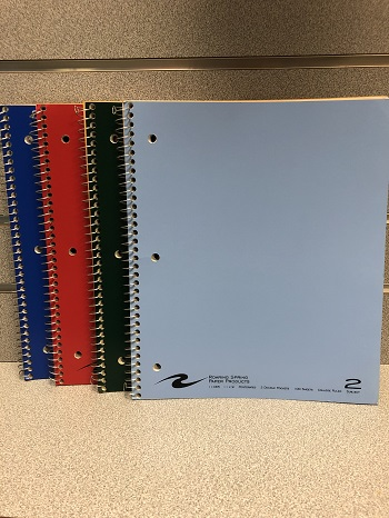 2 Subject Notebook R.Springs