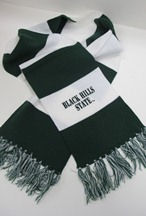 Bhsu Green/White Scarf