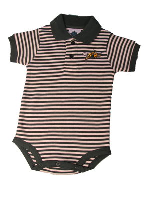 Infant Striped Polo Body Suit (SKU 1054545423)