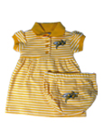 Infant Striped Game Day Dress