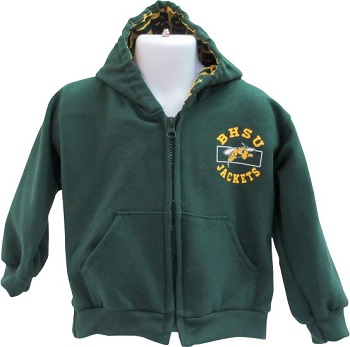 Full Zip Bhsu In The Hood