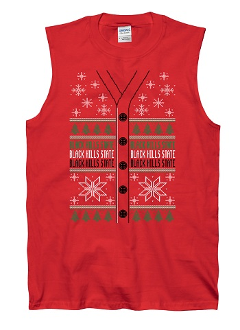 Christmas Tee Vested Sleeveless