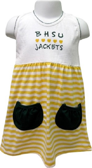 Toddler Stripe Dress Bhsu