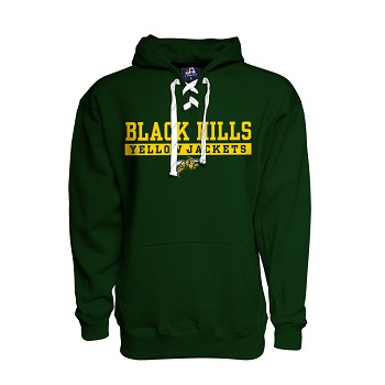 Premium Laced Hoodie Bh Yellow Jackets