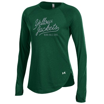 Ua Ultimate L/S Tee Yellow Jackets