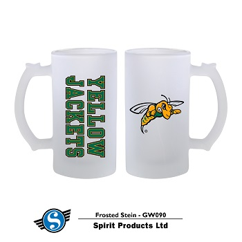 Frosted Stein Yellow Jackets