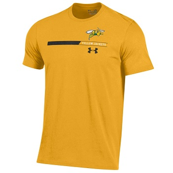 Charged Cotton Tee UA Yellow Jackets