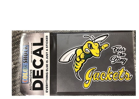 Fear The Sting Jackets Decal