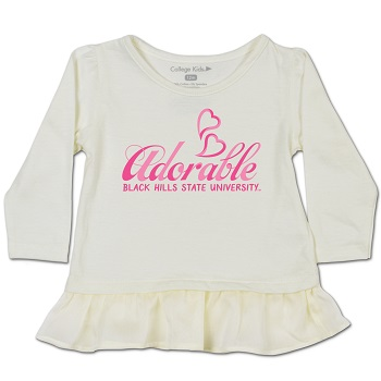 Infant Shirt Vanilla Love Adorable