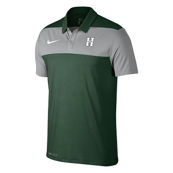 Color Block Polo Nike H Logo
