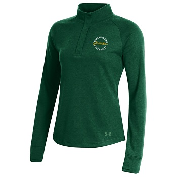 Ladies 1/4 Zip UA Double Knit