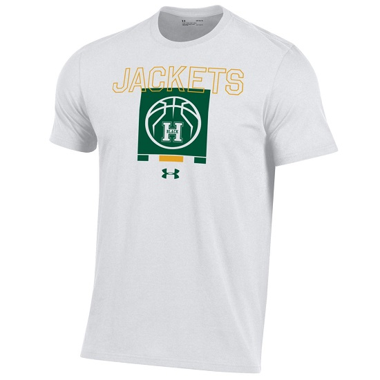 S/S Tee UA Hoops On The Back
