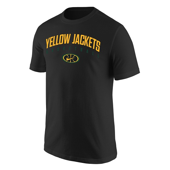 Nike Tee Yellow Jackets Basketball
